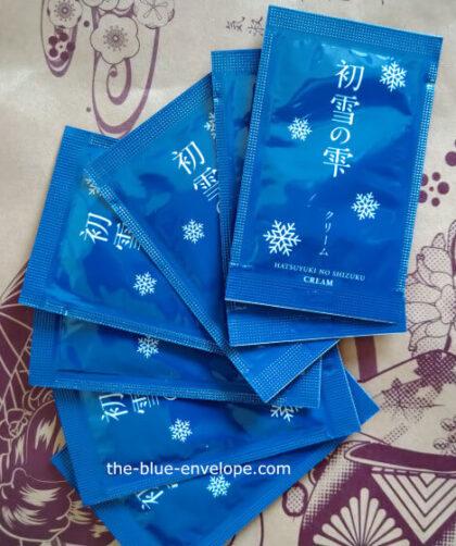 初雪の雫クリーム500円お試しサンプル
