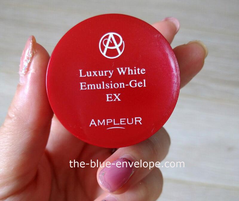 アンプルール美容乳液ゲル